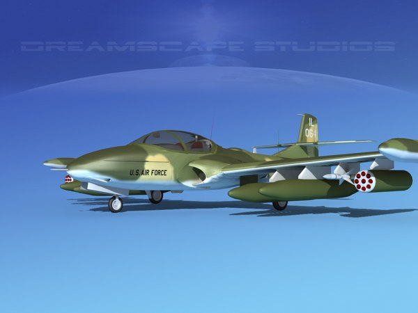 cessna a-37 dragonfly 3ds