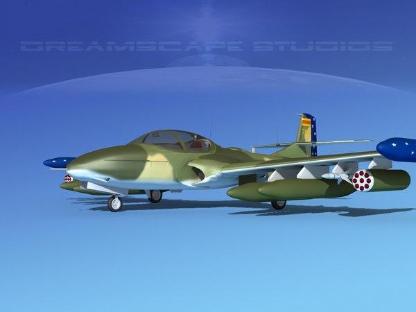 cessna a-37 dragonfly vietnam 3d max