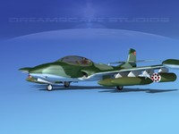 cessna a-37 dragonfly 3d 3ds