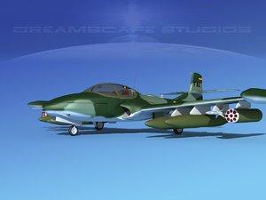 3d cessna a-37 dragonfly