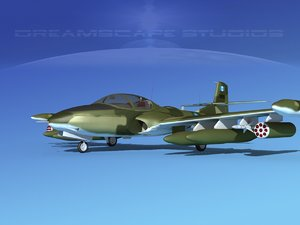 3d cessna a-37 dragonfly model