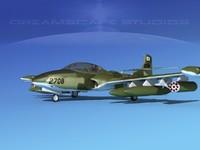 cessna a-37 dragonfly 3d max