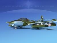 3d model cessna a-37 dragonfly
