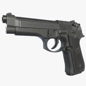 m9 pistol 3d model
