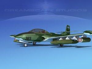 cessna a-37 dragonfly 3d model
