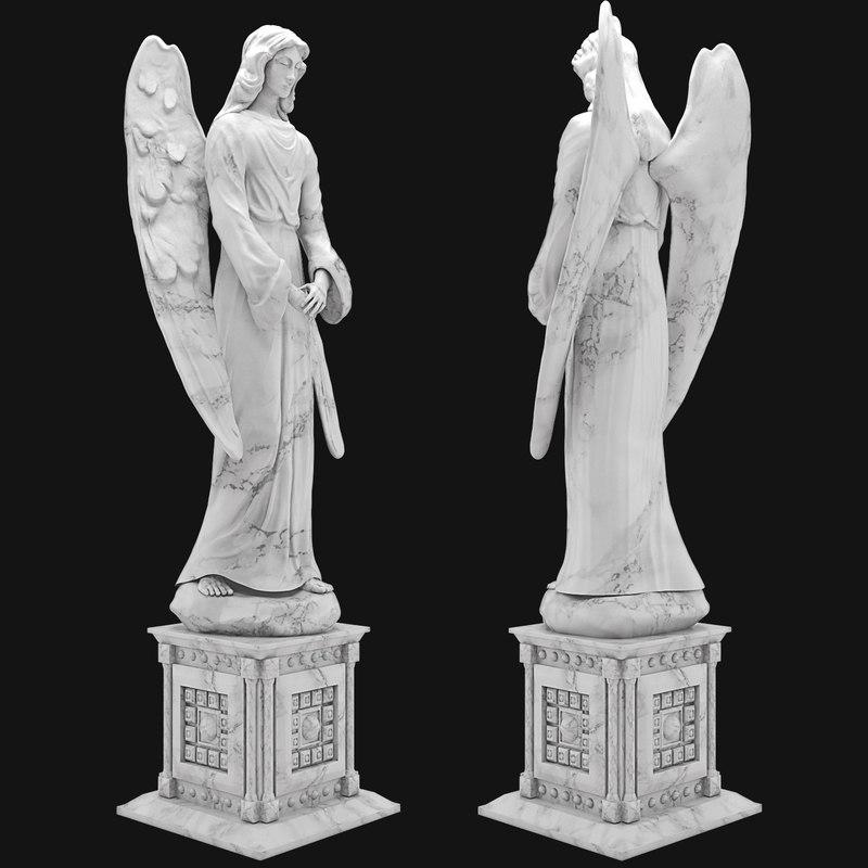 angel sculpture max