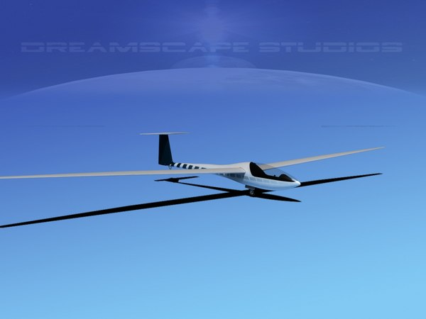 dg-200 sailplane 17 dxf