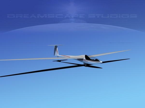dg-200 sailplane 17 3ds