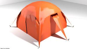 3d tent model