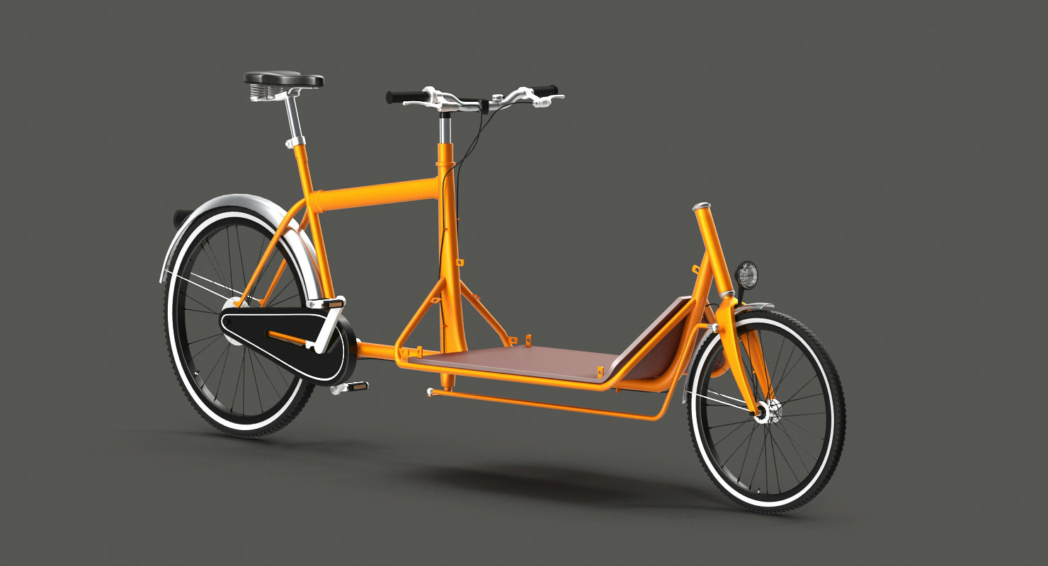 3d cargo bicycle