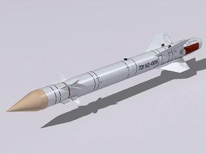 kh-25 missiles 3d 3ds
