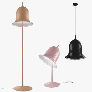 3d model lolita lamp