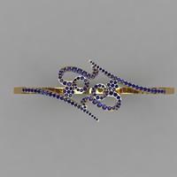 3d dxf bracelet