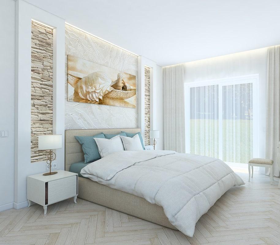 cozy bedroom 3ds