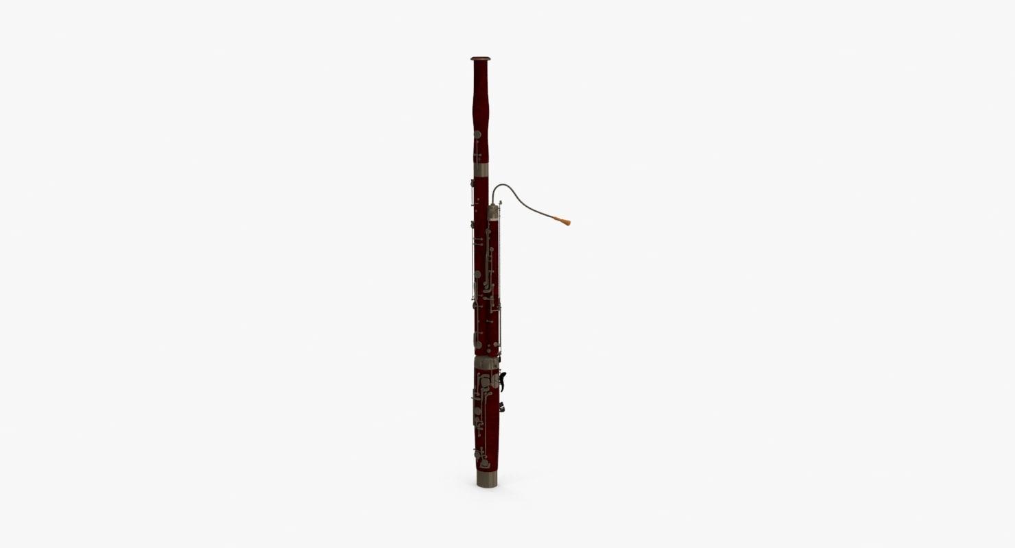 3d bassoon