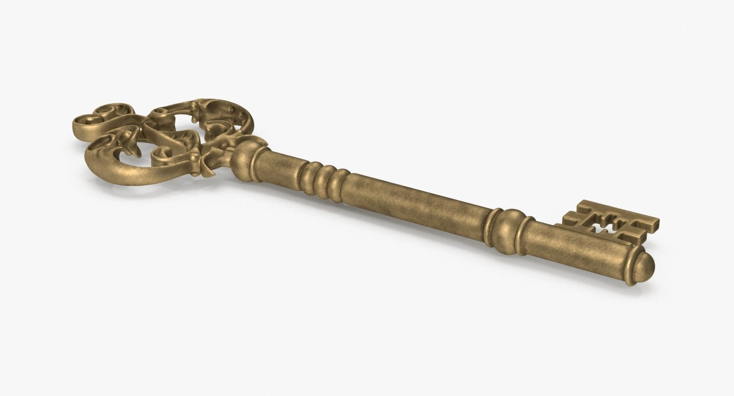 skeleton key 02 3d model