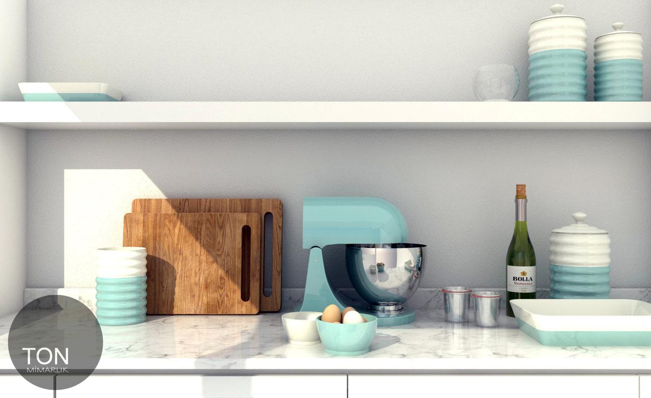 aqua kitchen 3d 3ds