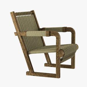 chair joshua tree lounge 3ds