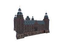 3d castle building