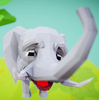 elephant animations max