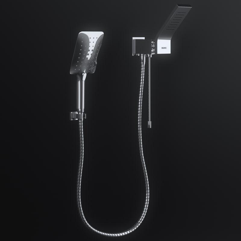 3d model helvex shower