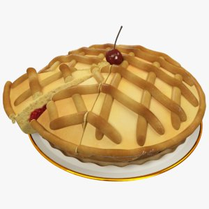 pie pieces 3d max