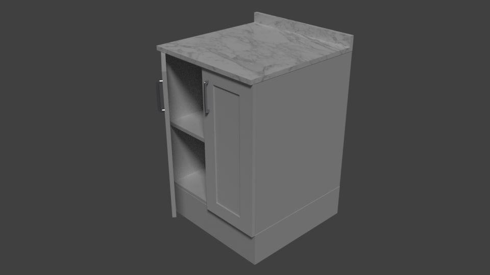 cabinet 3d x