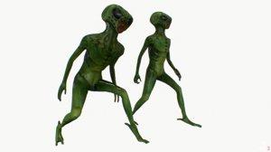 fbx alien rig
