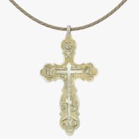 crucifix rope 3d model