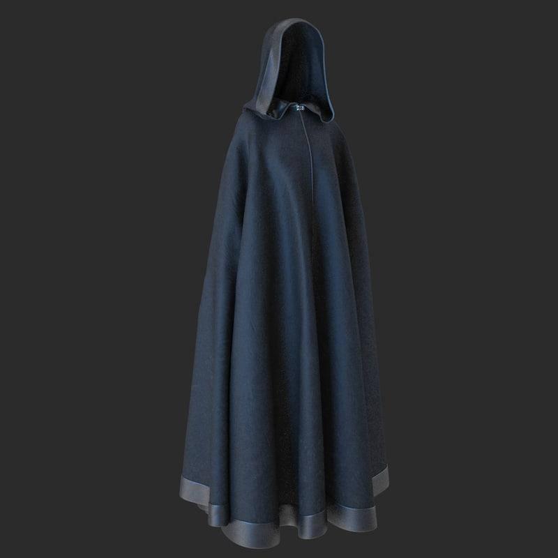 3d model cloak