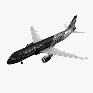 3d model airbus a320 air new