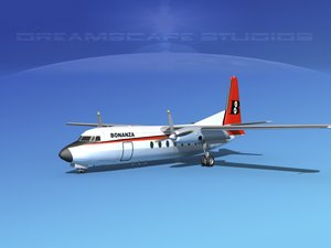 dwg fairchild airliner