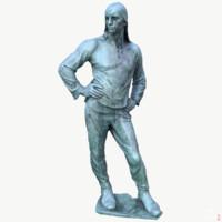 Dock Worker Statue