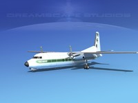 3d fairchild airliner model