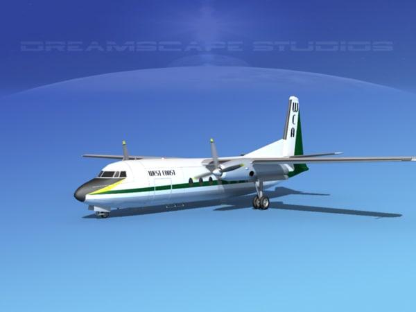 3ds fairchild airliner west coast