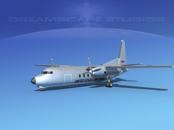 fairchild f-27 fokker max