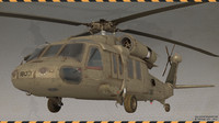 blackhawk hawk 3d max