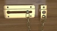 3d door chain model