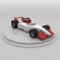 3d formula1 car