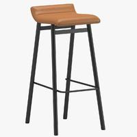 stool 03 3d max