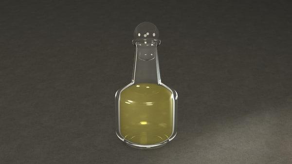 c4d bottle holy oil