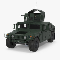 humvee m1151 enhanced armament 3d 3ds