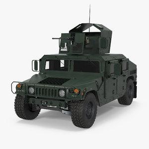 humvee m1151 enhanced armament 3d 3ds