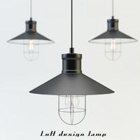 loft design lamp max