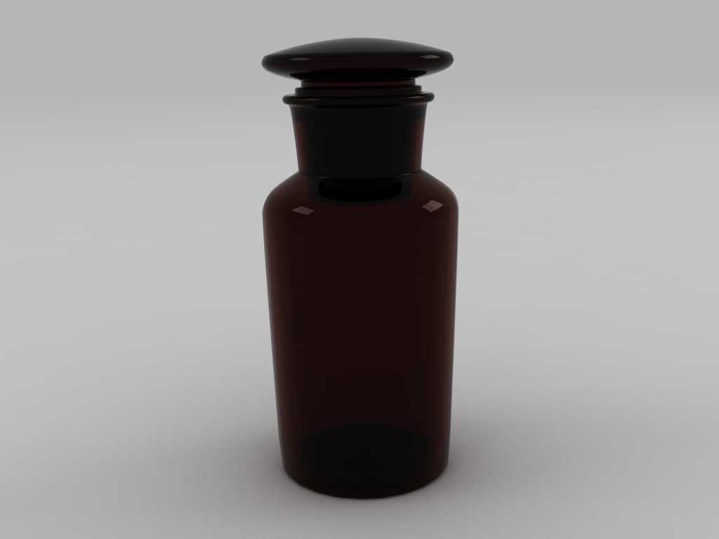 reagent bottle 500ml 3d 3ds