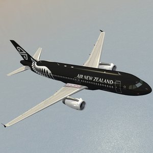 airbus air new zealand dxf