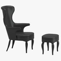 3d chair 74 model