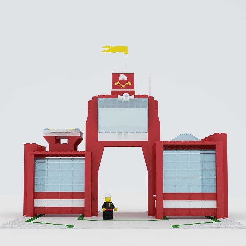 lego station max