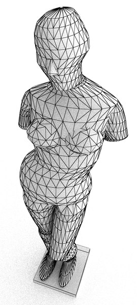 3d model statue venus