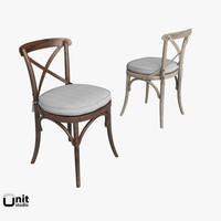 chair restoration hardware 3d model